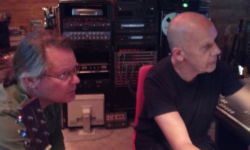 Brian and Les, on the mix